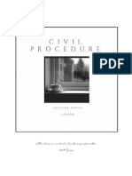 Civil Procedure Notes[1]