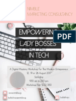 Empowering Lady Bosses In Tech