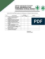 7.1.2.2 Hasil Evaluasi Penyampaian Informasi Di Tempat Pendaftaran
