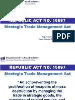 PH Strategic Trade Management Act