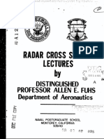 Fuhs Radar Cross Section 1982