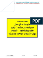 Ep-ms-p4-s2-082 - 11 Kv Indoorear Panels Withdrawable Vacuum 1