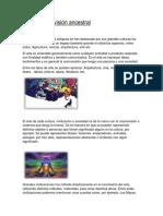 Arte y Cosmovisión Ancestral-Ecología Indígena