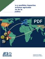 Oportunidades y Posibles Impactos de las negociaciones agrícolas internacionales de la Comunidad Andina