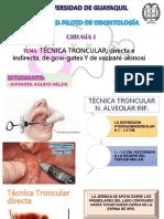 Tecnicas de Anestesia