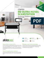 Contex Hd Ultra i4250s Scanstation
