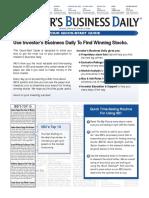 Quick Start Guide to IBD