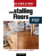 BUILD LIKE A PRO ® Expert  Advice from Start to Finish Installing Floors