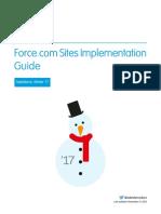 Salesforce Platform Portal Implementation Guide 2017