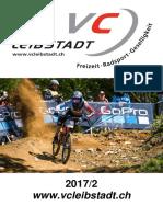 Vereinsheft Veloclub Leibstadt 2017/2