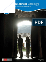 Perfil del Turista Extranjero 2013