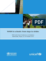 Wash in Schools From Steps to Strides