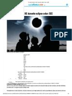 Sí Habrá Clases en BC Durante Eclipse Solar_ SEE