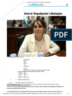 Juez Ordena Extradición de 'Chapodiputada' a Washington