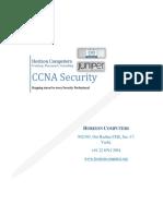 CCNA Security Brochure
