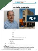 _EU Me Confunde_, Dice Otro Raúl Flores en Puebla