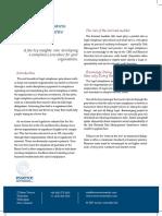 Business benefits from Legislative Compliance