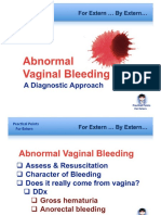 Abnormal Vaginal Bleed
