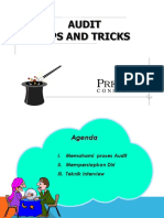 Audit Tips and Trick