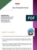 Ebusiness Transaction Process