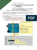 Use Arduino as AVR programmer