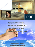 Prayer by Rebeca Orcales