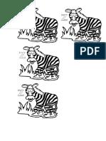 z, mint zebra, 1 oszt
