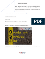 Impact of GST in India | GSTBlue – One stop solution for all accounting needs