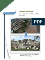 Dar Es Salaam From Slums to Real Estate