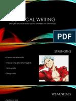 Technical Writing 2017