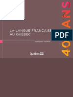 About French Language in Quebec
