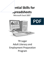 Ms Excel 2007