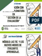MODULO La Evaluacion y Las Tic
