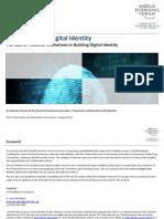 WEF a Blueprint for Digital Identity