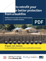Bushfire Home Retrofit