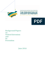 Background Papers on Violent Extremism and Its Prevention (UNDP, 2016)