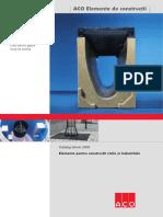 Catalog ACO Elemente de ConstructiNBVHF