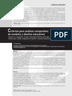 Dialnet-CriteriosParaAnalisisComparativoDeModelosYDisenosE-2859452