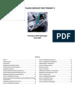 Checklist KKD Tingkat 3