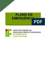 Plano de Emergencia IFSC