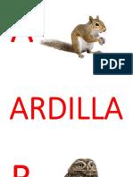 Abecedario Animales 1.Pptx