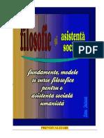 FILOSOFIE ŞI ASISTENŢĂ SOCIALĂ