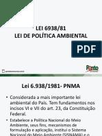 Lei 6938 Politica Ambiental Concurso