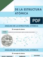 TEMA 1 Análisis de La Estructura Atómica