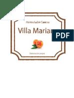Etiquetas Mariana