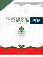 Plan Municipal Desarrollo Camerino Mendoza Administracion2014-2017