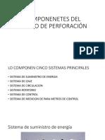 COMPONENETES DEL EQUIPO DE PERFORACIÓN.pptx