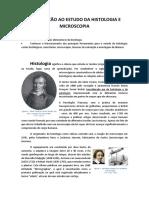 02 - Introdução Ao Estudo Da Histologia e Microscopia