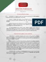 Aspectos Formales Catálogo de Investigación Joven en Extremadura
