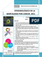 Boletin Cancer 2011-Tacna